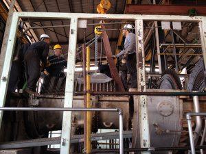 Révision de turbine à gaz